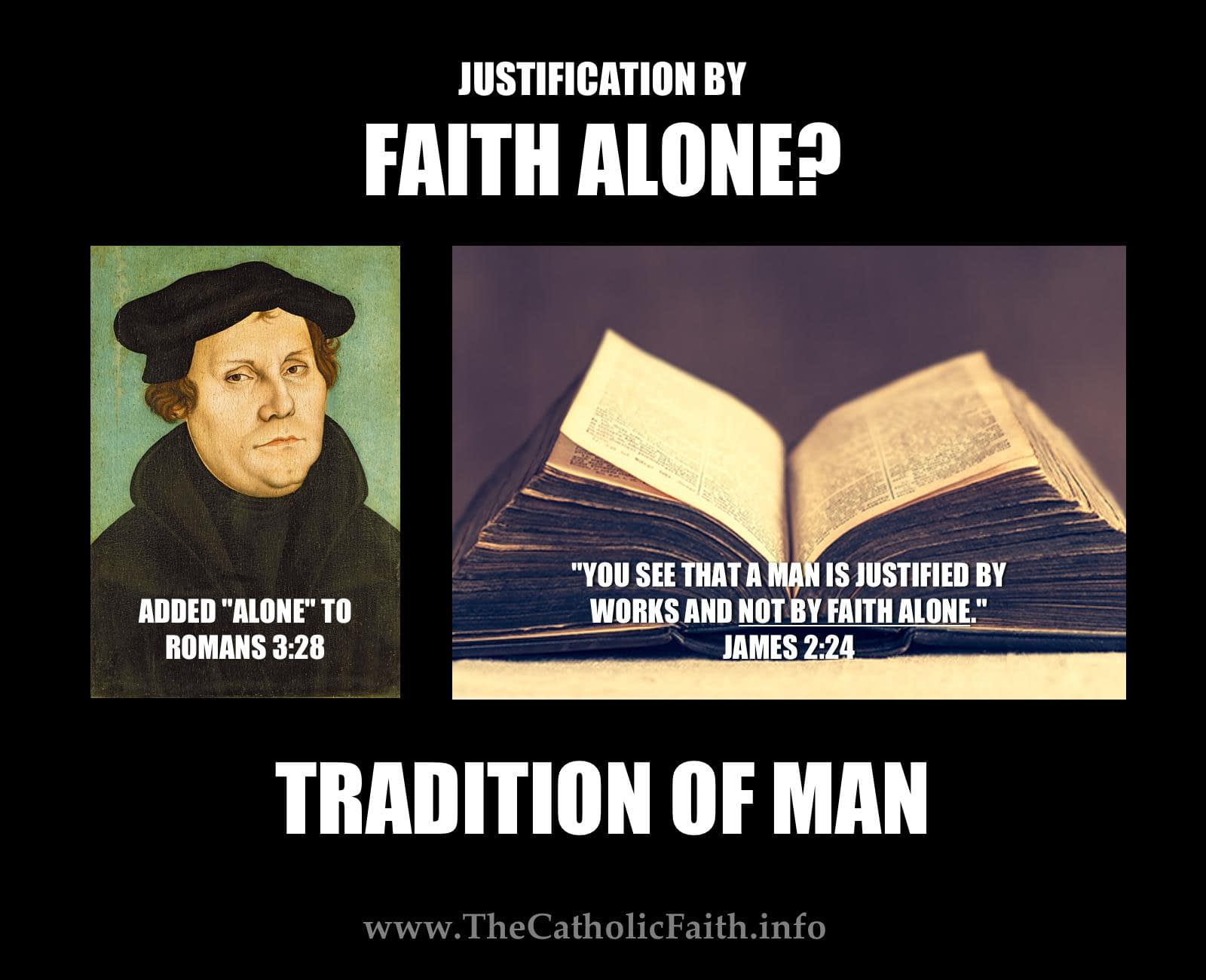 Faith Alone?
